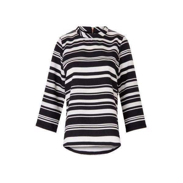 Striped Coster Copenhagen Top - Front View