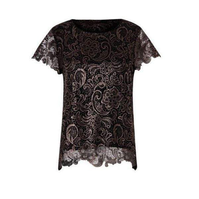 Cobber Lace Coster Copenhagen Top Front View