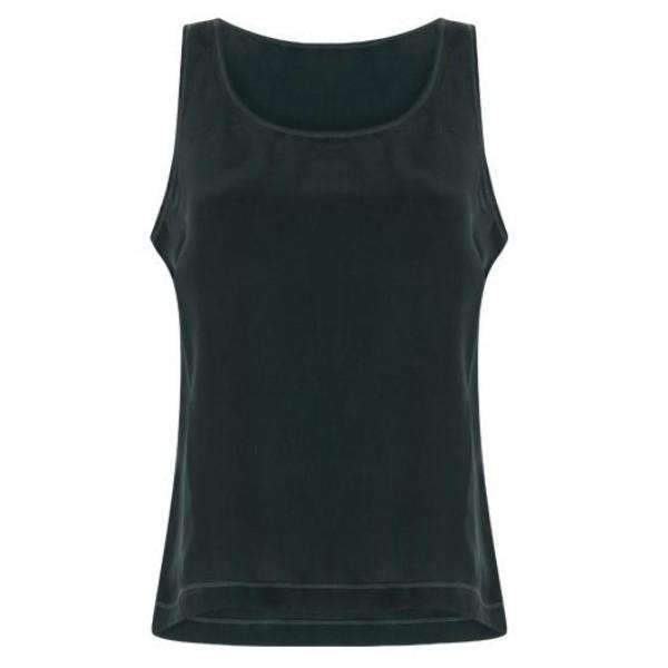 Cupro Sleeveless Coster Copenhagen Top - Front View