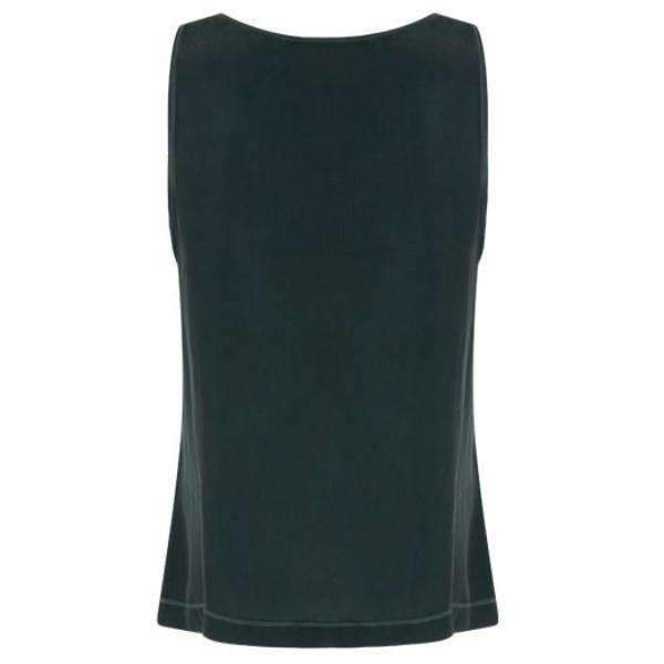 Cupro Sleeveless Coster Copenhagen Top - Back View