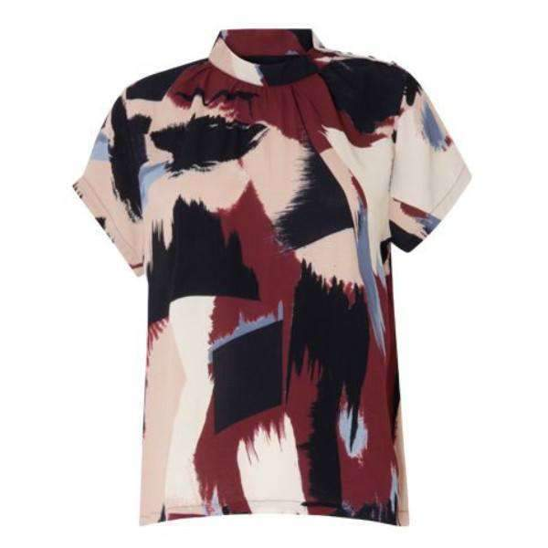 Paint Print Coster Copenhagen Top - Front View