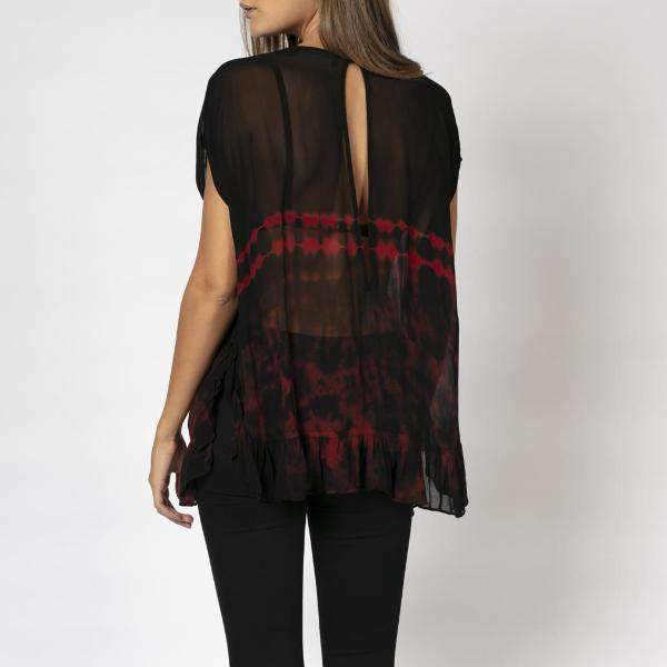 Principle Sheer Religion Top - Back View
