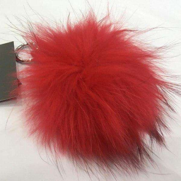 Fur MacLauren Keyring Red