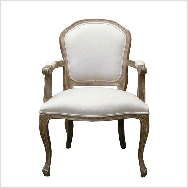 French Country Oak Armchair