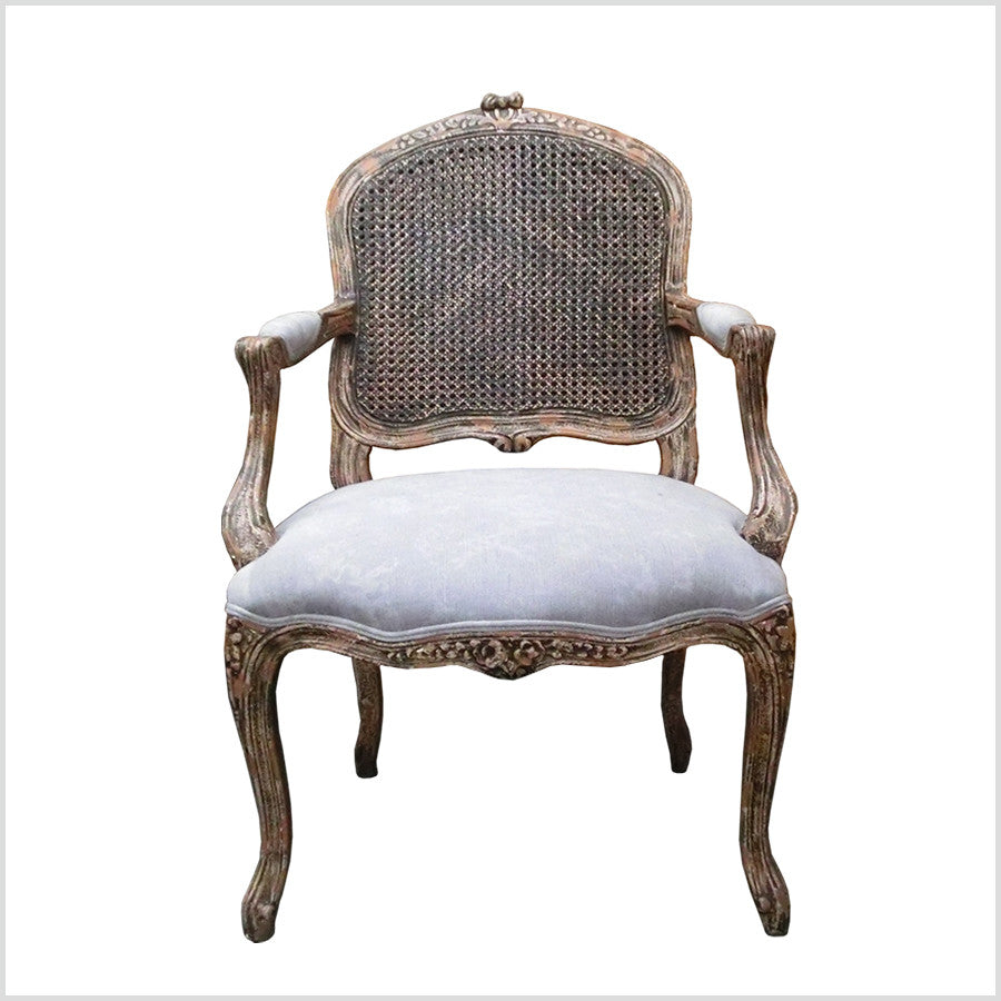 French Country Occasional Armchair