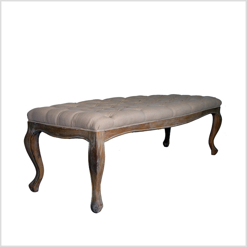 End bed Button Tufted  Bench