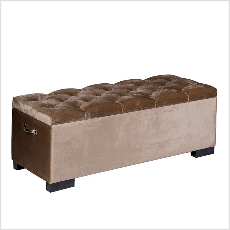 End bed Button Tufted Box Bench