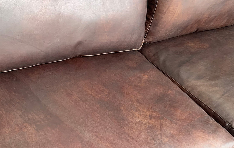Sectional Collection --- Full Grain Leather Mars Color
