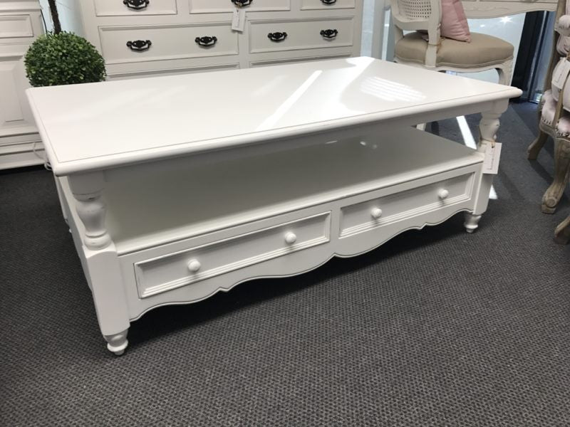 HARMONIE COLLECTION --Coffee Table with 2 Drawer