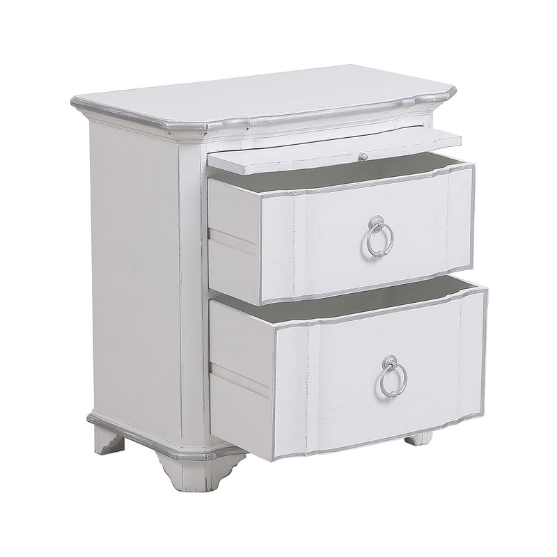 Monceau Collection- 2 drawer bed side table