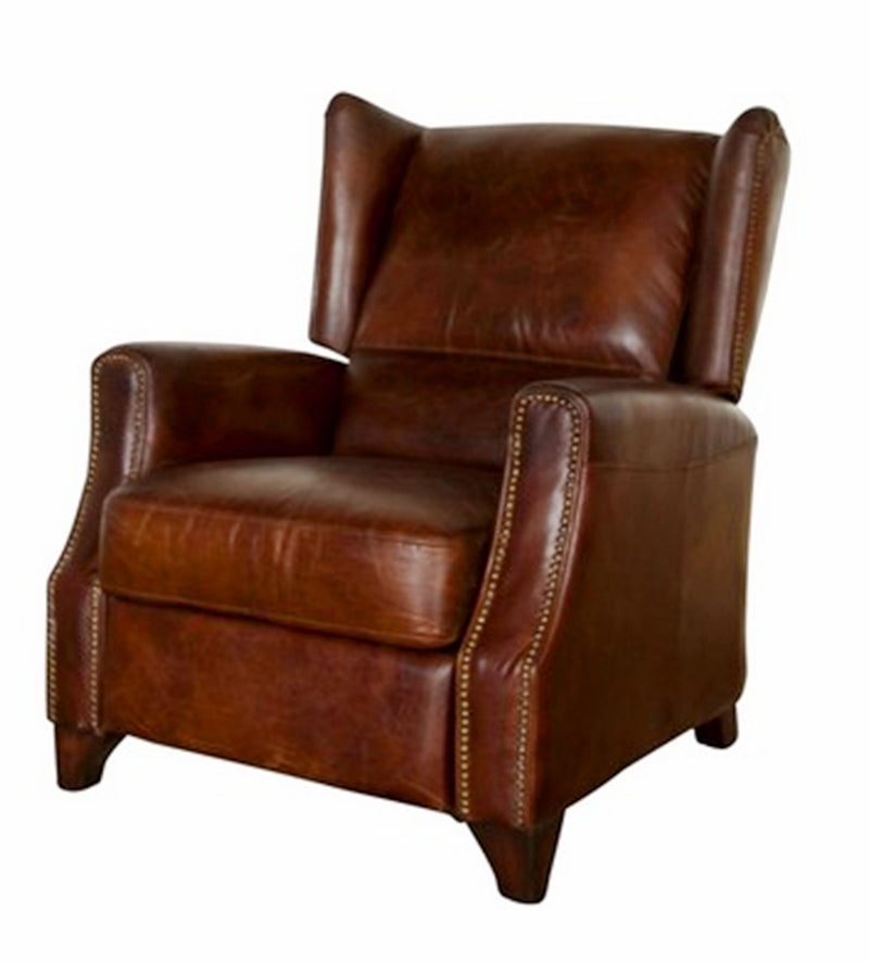 RECLINER VINTAGE CIGAR BROWN