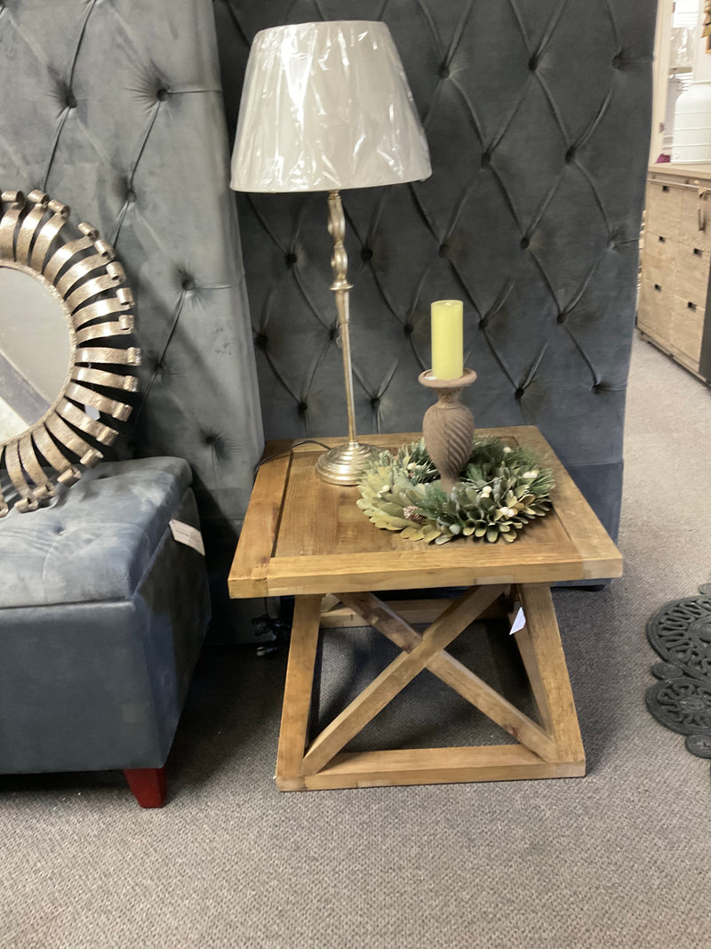 Reclaimed Timber Side table