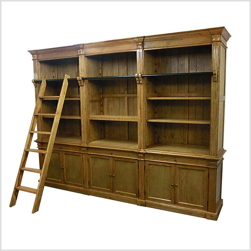 French Library Bookshelf 3 bays