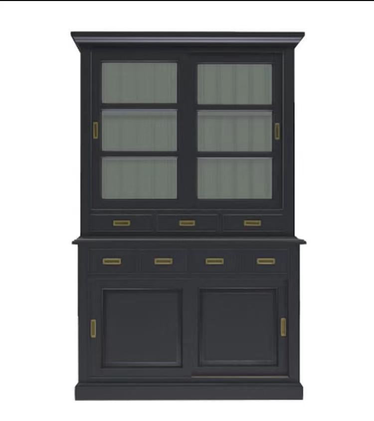 Capboard 2 door--Rhode Island Collection Black