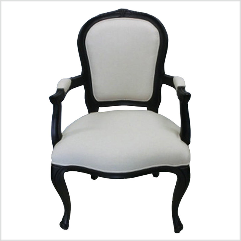 French Country Dining Chair with Arm
