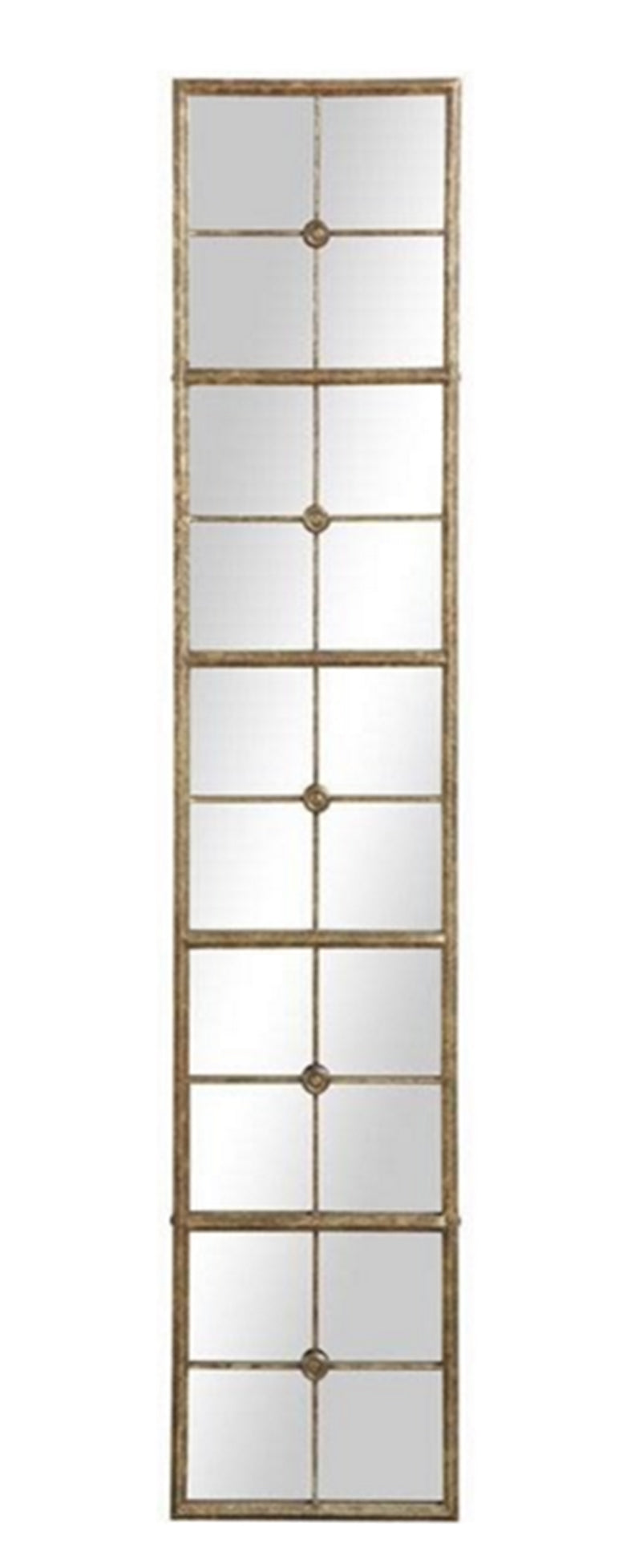 Antique Gold Metal framed. Mirror