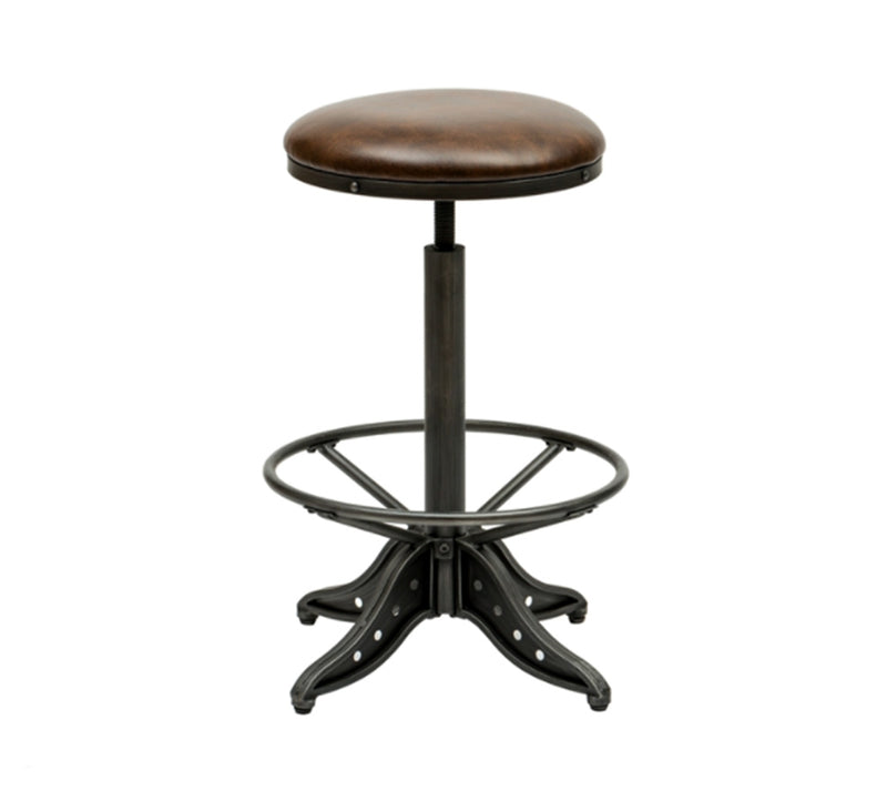 Metal Adjustable Bar Stool