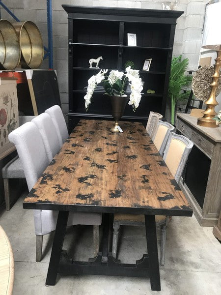Rustic Lodge Reclaimed Dining table in 2.4m