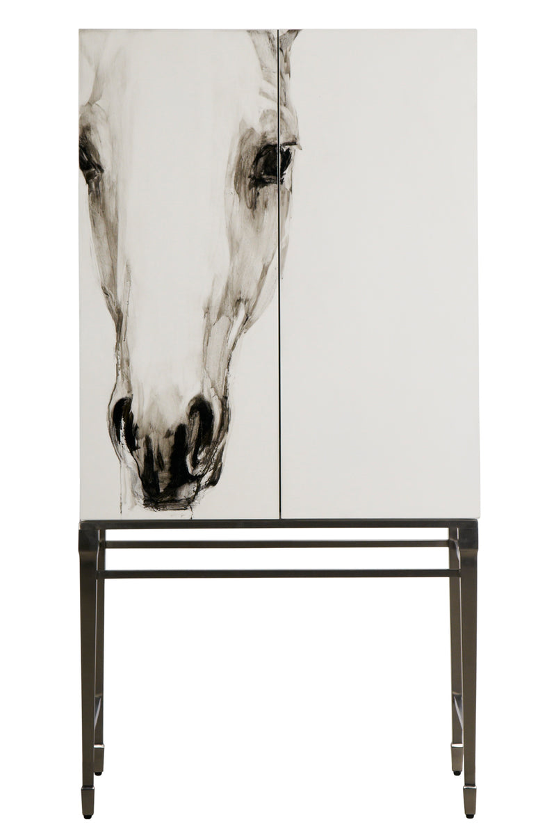 Cabinet/Wardrobe--Horse Picture