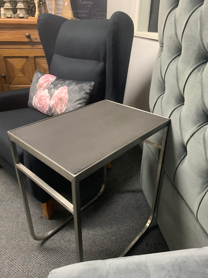 Industrial Loft Metal Side Table
