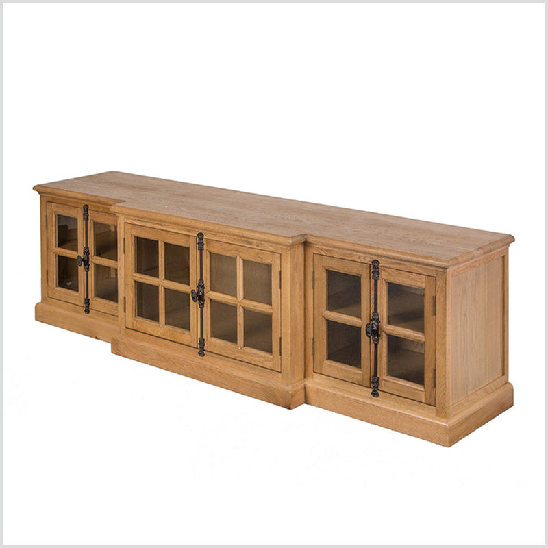 FRENCH CASEMENT  MEDIA CONSOLE