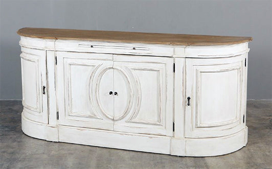 French Provincial Side Board 2110mm Wide