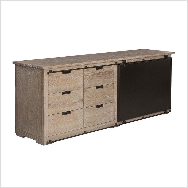 Industrial Loft Oak Sideboard