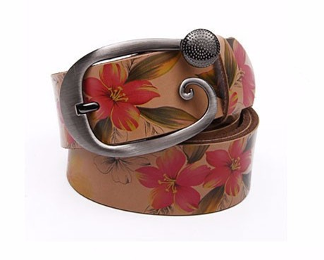 Womens Leather Jeans Belt