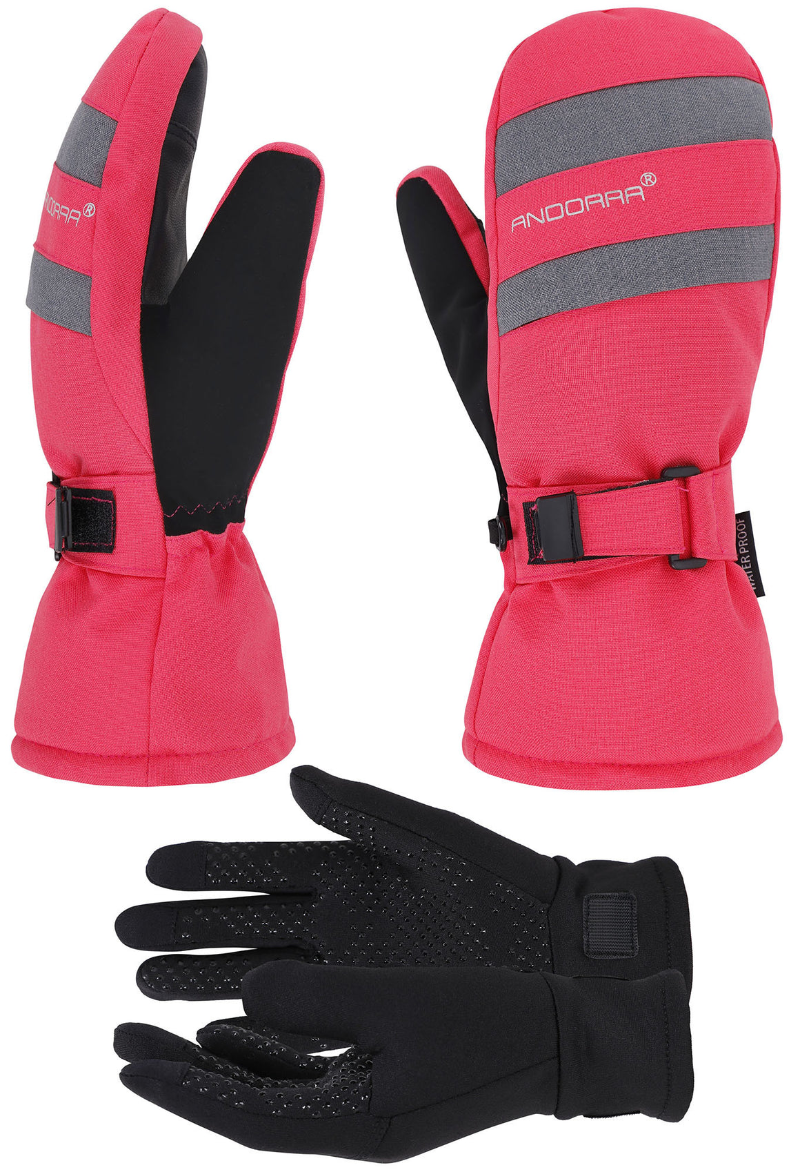 Andorra Women's Hyper Tech Touchscreen Mittens