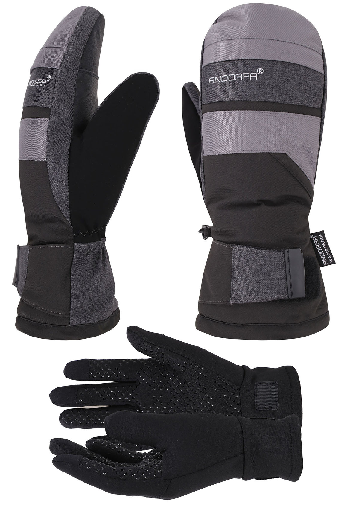 Andorra Men's Hyper Tech Touchscreen Mittens