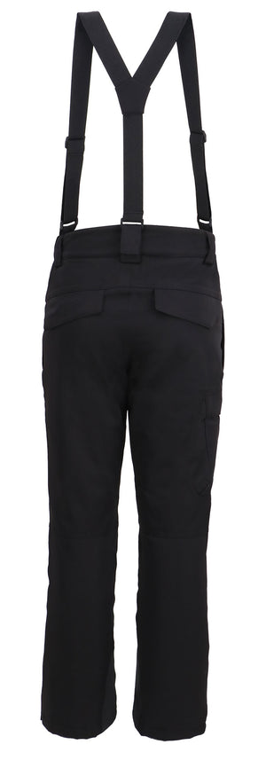 Andorra Men's Performance Insulated Cargo Ski Pants - Black
