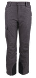 Andorra Men's Performance Insulated Cargo Ski Pants - Grey