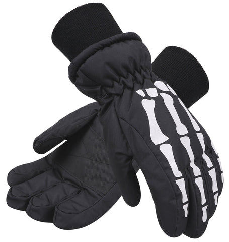 Andorra Kids' Glow-In-The-Dark Skeleton Gloves