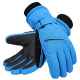 Andorra Kid?€?s Zippered Pocket Ski & Snowboarding Gloves - Royal