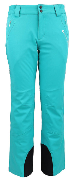 Andorra Women's Performance Insulated Cargo Ski Pants - Teal