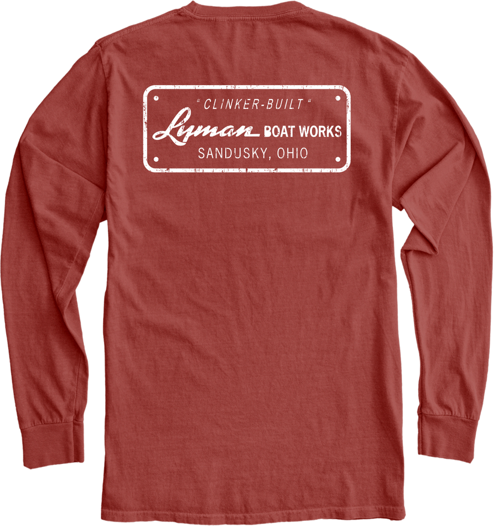 Lyman Builders Plate Long Sleeve Tee
