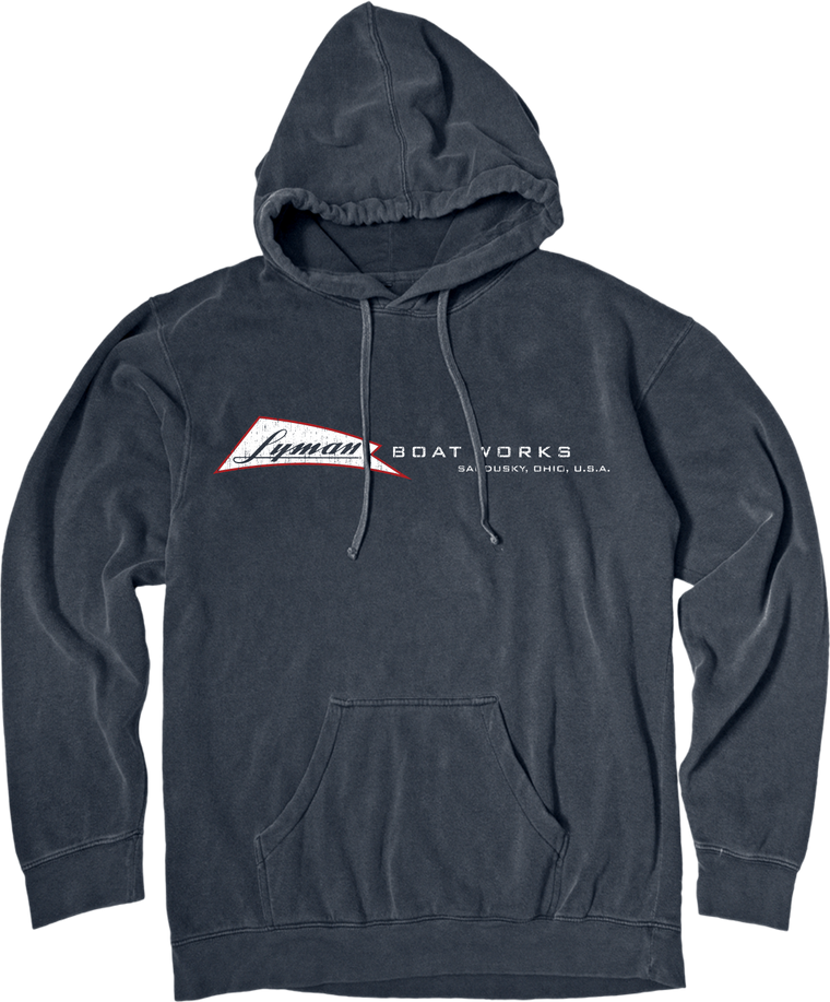 Lyman Boat Works Hooded Sweatshirt