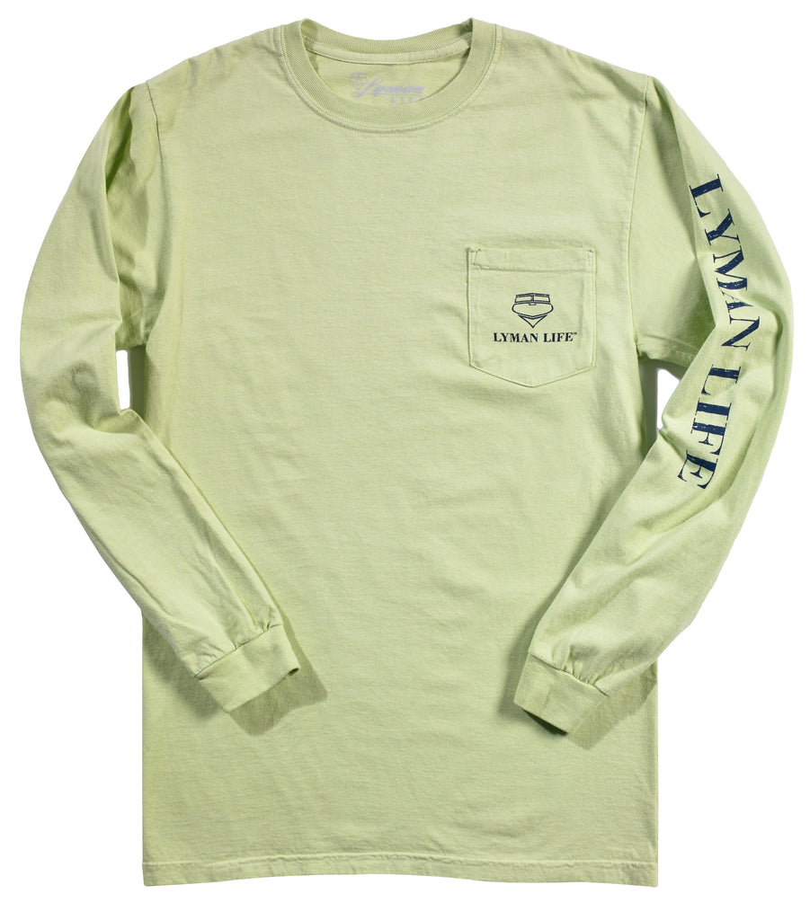 Original Long-Sleeve Lyman Life Vintage Signature Pocket Tee
