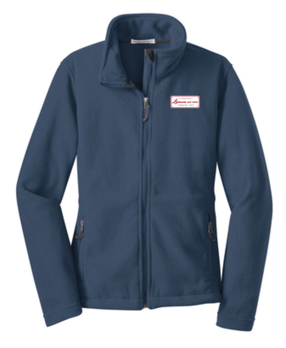 Builders Plate Ladies Heavyweight Full-zip Fleece