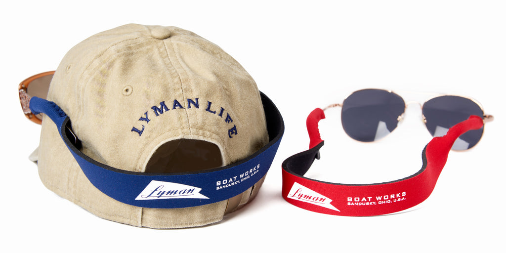 Lyman Boat Works Floating Sunglasses Strap
