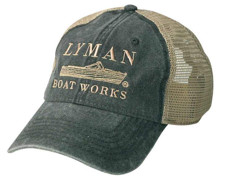 The Lyman Boat Works Trucker Hat