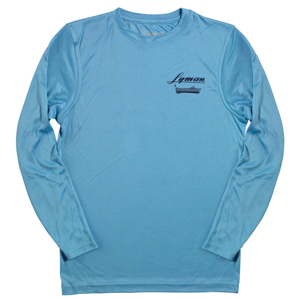 Lyman Boat Works UV Protection Long-Sleeve Tee