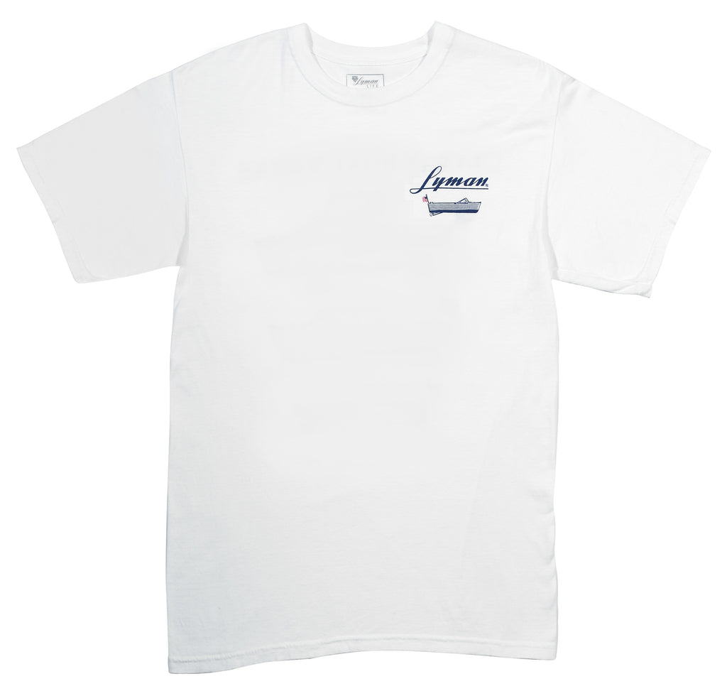 Lyman Boat Works Collection Tee