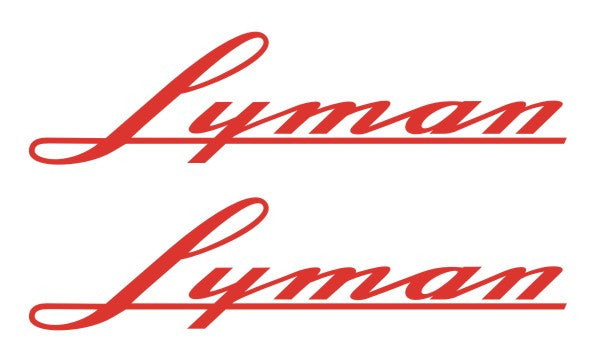 Lyman Custom Decals