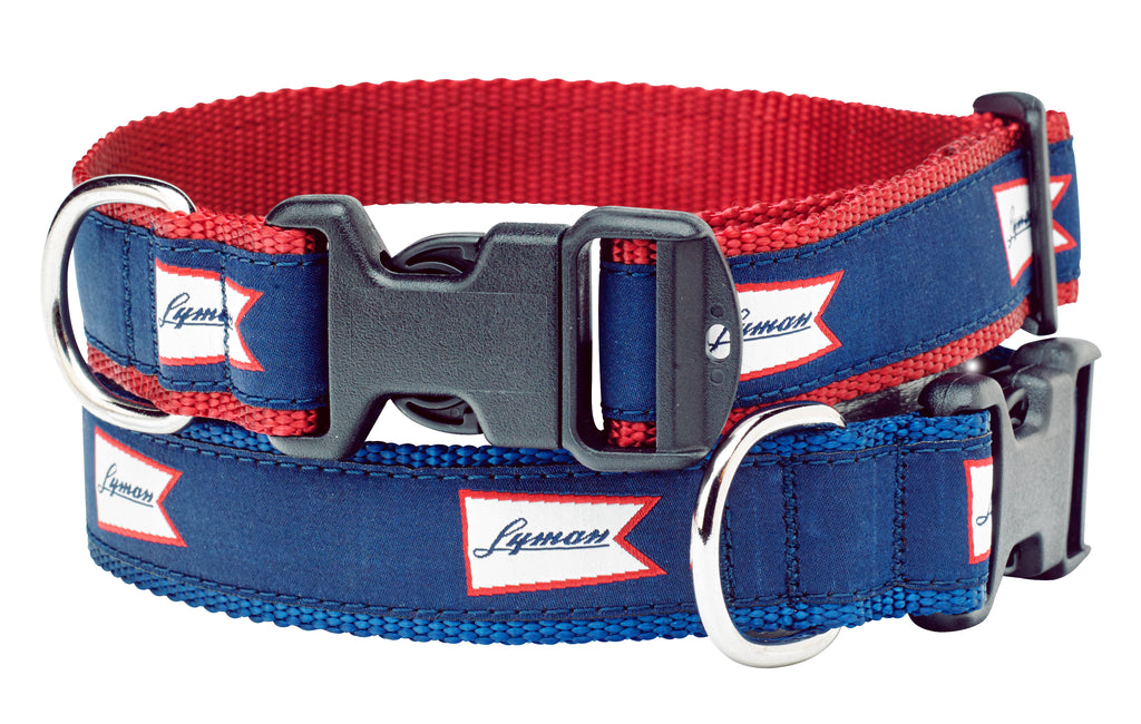 Lyman Burgee Dog Collar