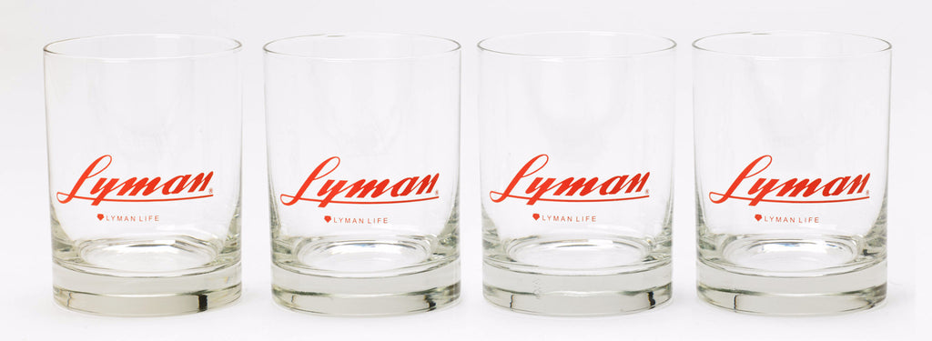 Lyman Whiskey Glasses - Set of 4