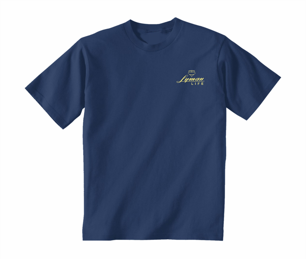 Lyman Boats Fishing Tee