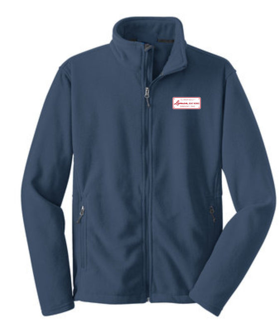 Builders Plate Mens Heavyweight Full-zip Fleece