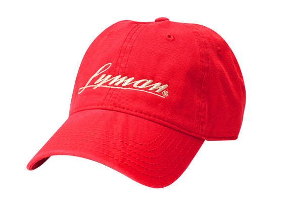 The Lyman Hat (Red w/Gold)