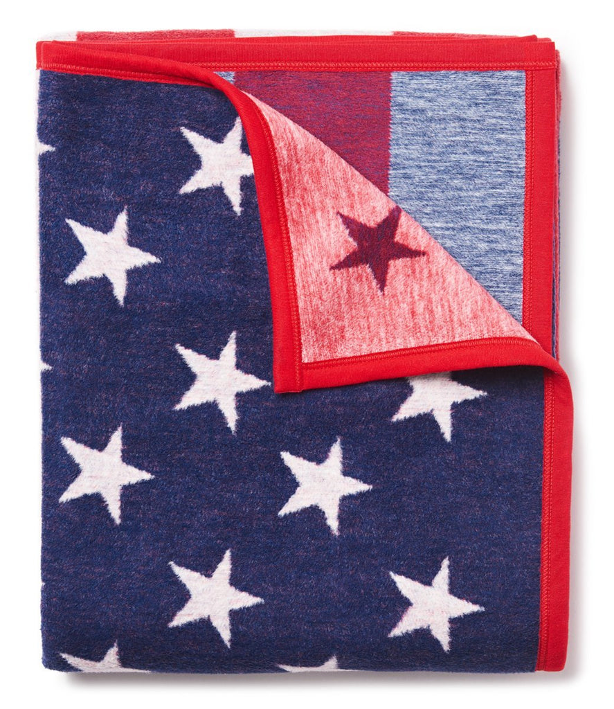 American Flag themed Blanket by Chappy Wrap